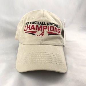 University of Alabama 2012 Football Champions Hat